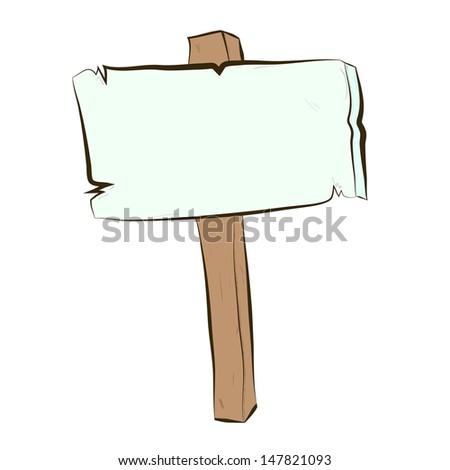 vector single sketch signpost stock vector 236172286 shutterstock