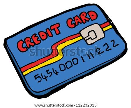 Credit card cartoons stock photos illustrations and vector art