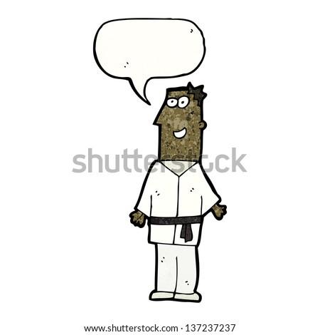 Karate Stock Photos  Illustrations  and Vector ArtBlack Karate Cartoon