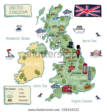 Map Of England For Kids.Map Of England