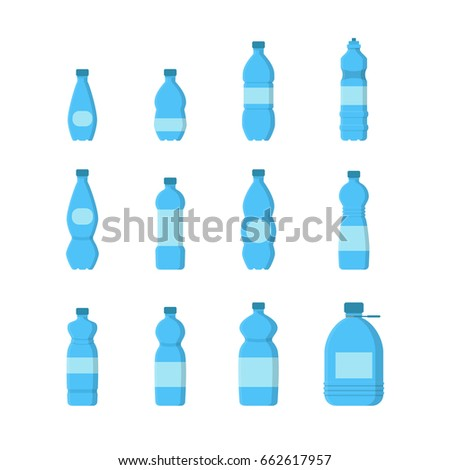 Blue Packaged Drinking Water