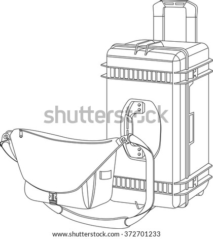 Case For Photo Equipment Carrying Bag The Camera