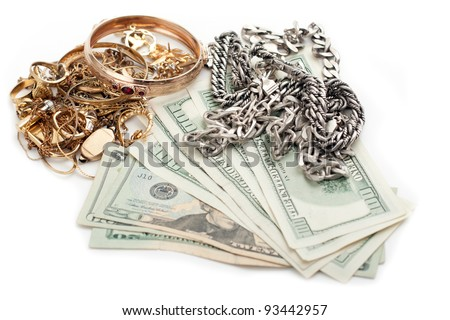 cash dollar for gold and silver scrap