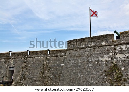 Castillo de San Marcos, St. Augustine, FL, USA - oldest city in US