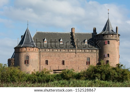 Castle Muiderslot in Holland
