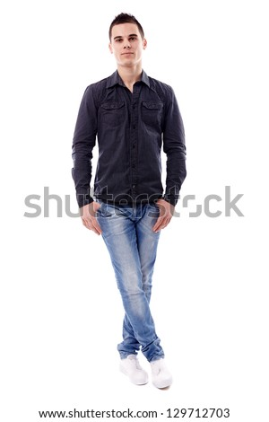 Asian Man Acting Poses Isolate On Stock Photo 591759137 ...