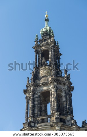 Catholic Court Church in Dresden, Saxony, Germany