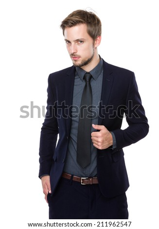 Caucasian businessman
