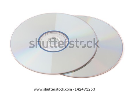CD isolated on a white backgrounds