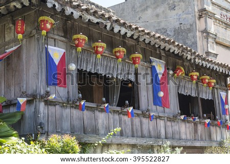 CEBU - PHILIPPINES - OCTOBER 30, 2015 : Traditional house in Cebu.