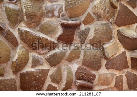 Ceramic tiles for walls