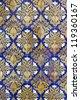 Ceramic wall tiles on Plaza de Espana in Seville, Spain - stock photo