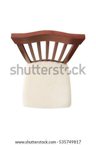 Chair on isolated background