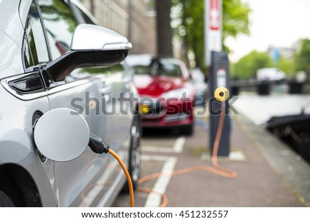 Charging an electric car - ecological way of driving