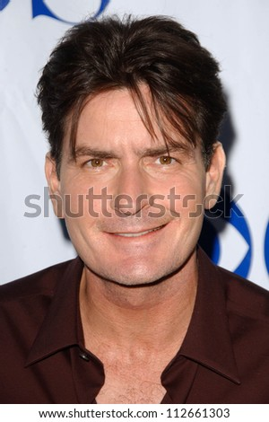 Charlie Sheen at the TCA 2007 CBS Summer Press Tour. Beverly Hilton Hotel, Beverly Hills, CA. 07-19-07