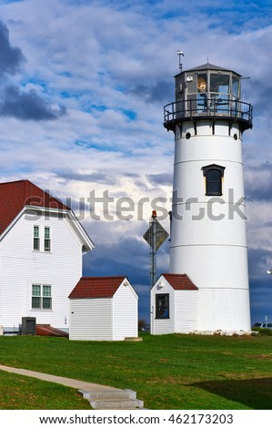 Chatham Lighthouse, built in 1808, Cape Cod, Massachusetts