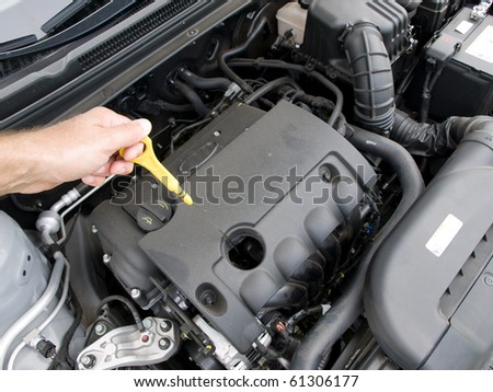 Check Oil Level Engine Stock Photo 226248856 Shutterstock