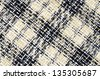 Checkered fabric for the background - stock photo