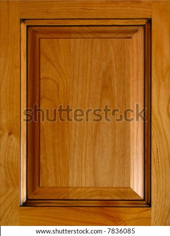 Cherry Raised Panel Cabinet Door