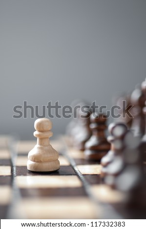 chess studio shot