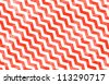 Chevron / Zig Zag Pattern - Orange Grunge - stock photo