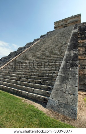 Chichen Itza Temple.Mexico