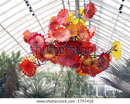 Chihuly Exhibit New York Botanical Garden Stock Photo 1795432 Shutterstock