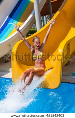 Happy Little Child Adorable Blonde Toddler Stock Photo ...
