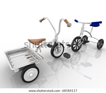children's tricycles