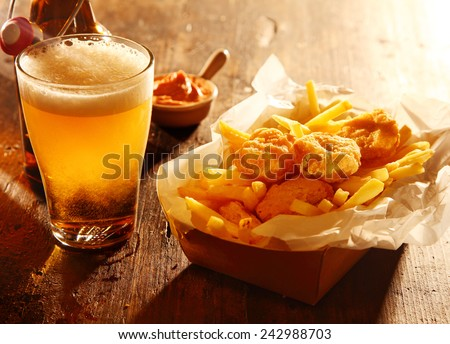 Five large glasses red yellow pink stock photo 392770906 for Fish and beer