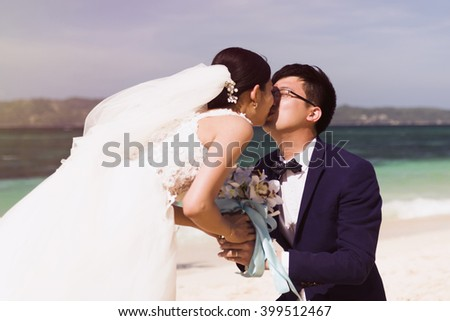 Wedding Gifts For Bride And Groom Philippines : Chinese bride and groom wedding photos in Boracay / Philippines, Puka ...