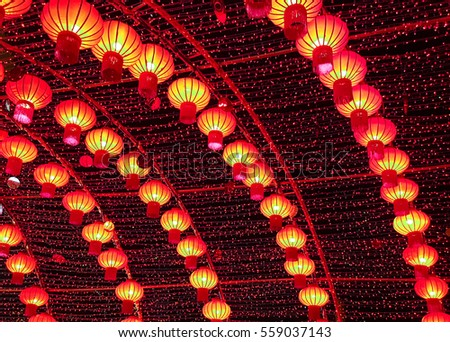 Chinese Lanterns Is Chinese New Year  2017.
