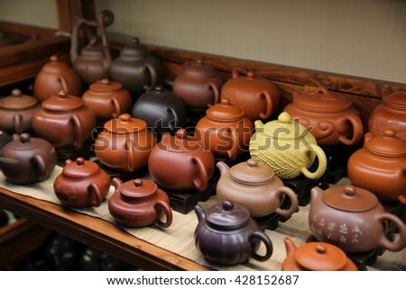 Chinese teapots