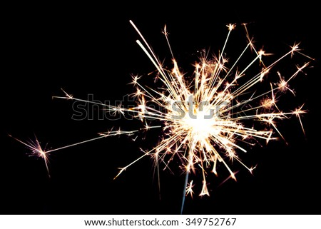 Christmas and newyear party sparkler background
