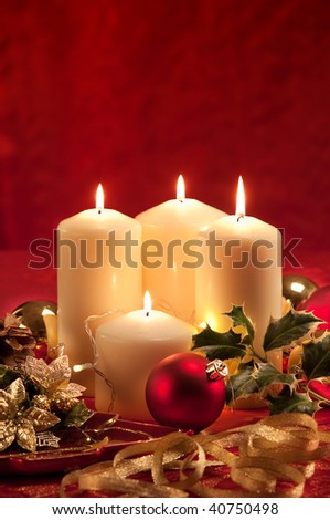 Christmas atmosphere - candles
