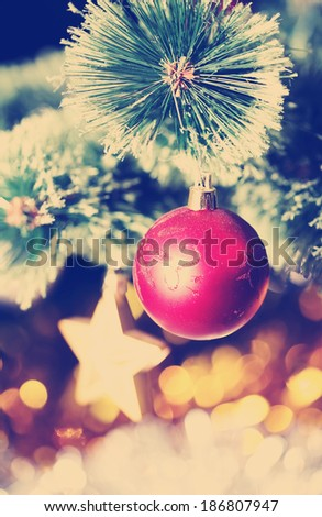Set Of Three Alpine Christmas Trees