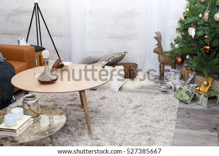 Christmas home interior