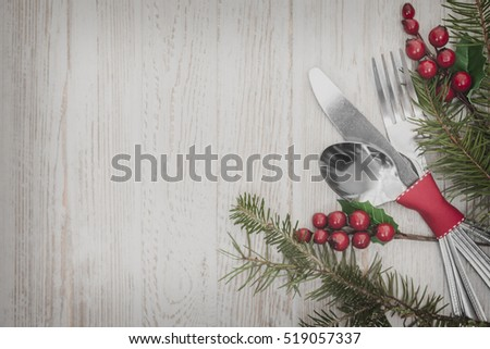 Table Setting Background christmas meal table setting background stock photo 519062455