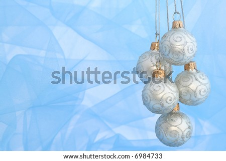 Christmas Ornaments / Ball / With Copy Spase