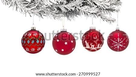 Christmas tree with a Bauble