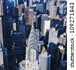 Chrysler Building, New York - stock photo
