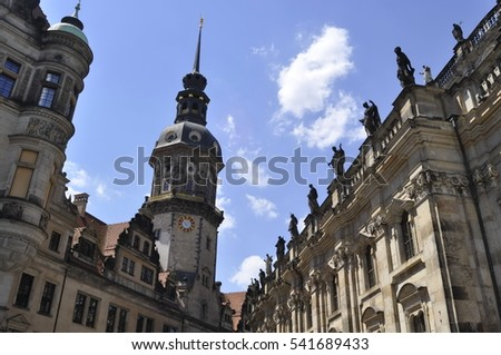 Church in Dresden, Germany