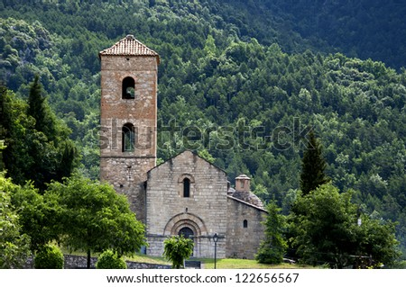Church of La Nou del Bergued��� .Catalonia.Spain
