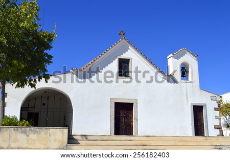 Church of Salir in the Algarve, Portugal