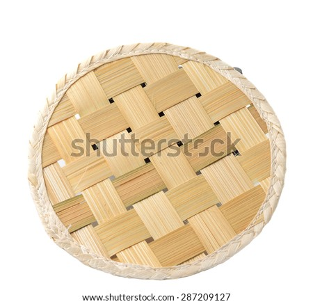 circle basketry pattern texture background