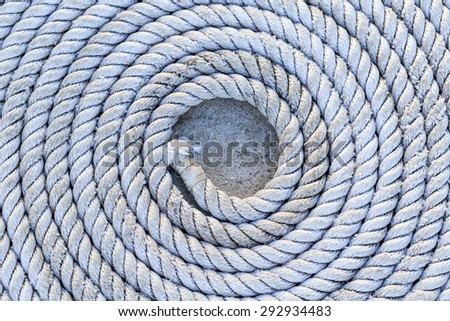 circle rope close up background and textures