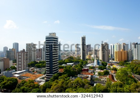 City of Belem do Para, north of Brazil