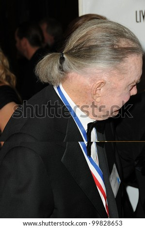 Cliff Robertson at the 8th Annual Living Legends of Aviation, Beverly Hilton Hotel, Beverly Hills, CA. 01-21-11