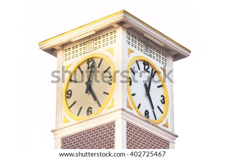 Clock tower backgrounds