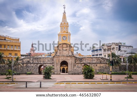 Clock Tower Gate - Cartagena de Indias, Colombia